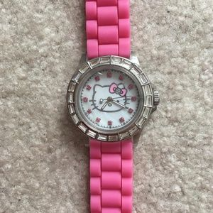 Hello Kitty Rhinestone Watch